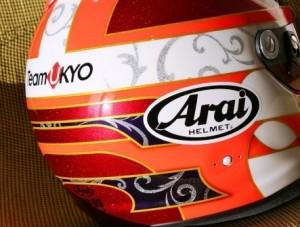 菅智好 様ヘルメット2