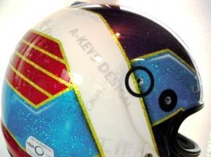 Takeshi.K 様 ヘルメット 2