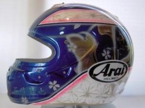 谷川選手1 ヘルメット2012
