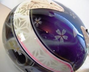 谷川選手2 ヘルメット2012