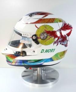 D.HORI 様 ヘルメット1