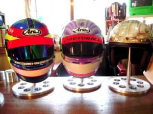 helmet stand
